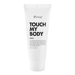 Гель для душа Esthetic House Touch My Body Goat Milk Body Wash, 100 мл - фото 4652